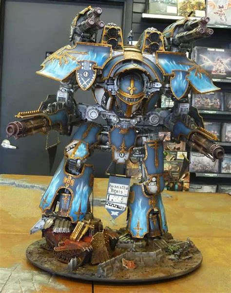 Hot Rod Warlord Titan - Army of One - Spikey Bits