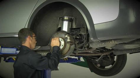 Replacing the Rear Air Suspension on the 2000-2006 Audi