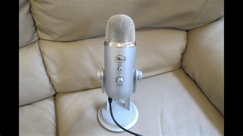 Blue Yeti Microphone Set up on Mac + PC Recording Review