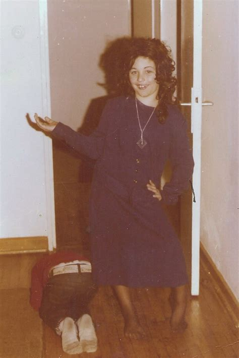 Me in Halloween Drag - circa 1976 | This is me in drag