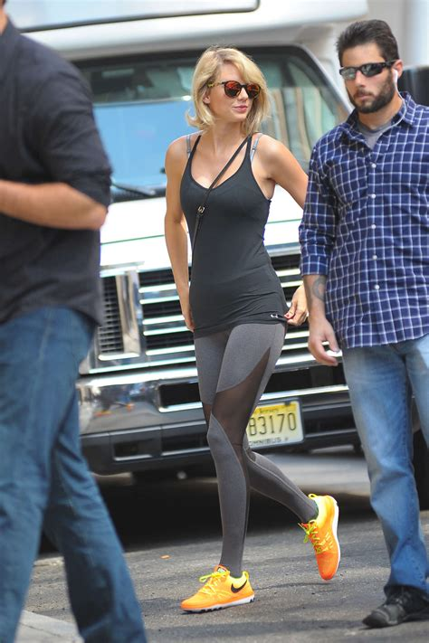 Taylor Swift in Tights headed to the gym -15 - GotCeleb