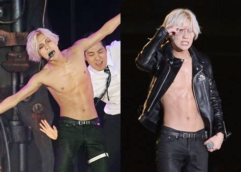 8 K-Pop Male Idols' Sexy Bare Abs to Get You Thirsty   Kpopmap