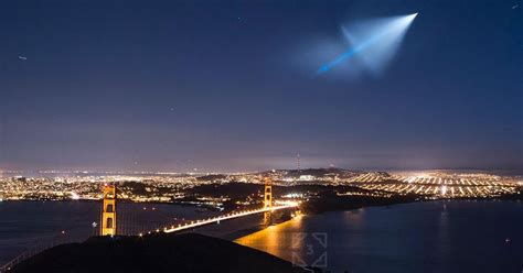 Missile Test 'UFO' Captured in Photos and Videos