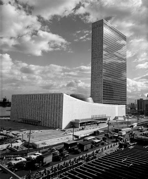 Completion of UN Headquarters | The last of the three main