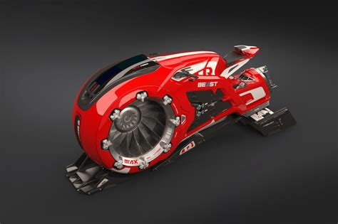 """""""The Beast"""" Hover Air Bike Concept   HYPEBEAST"""