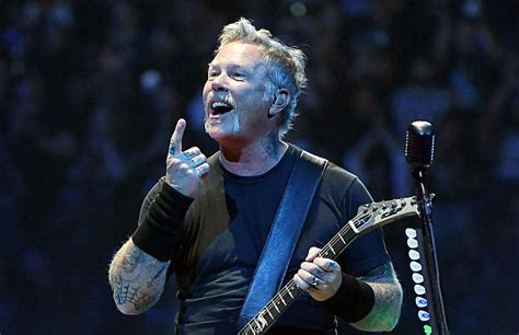 James Hetfield Announces New Metallica Music By Saying
