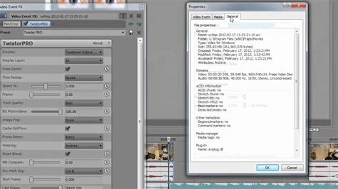 Best Twixtor Settings for Sony Vegas - No Distortion